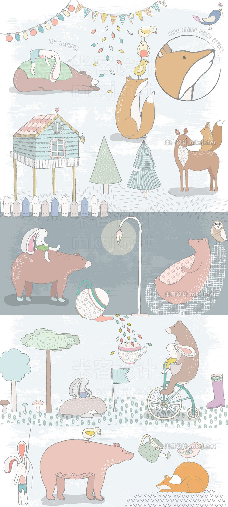 png素材 Cute Forest Collection