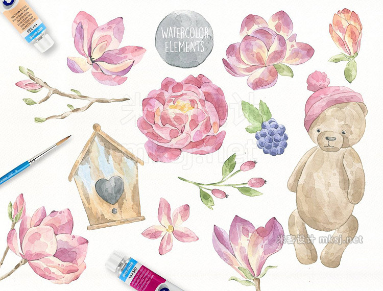 png素材 Fairytale Watercolor Collection