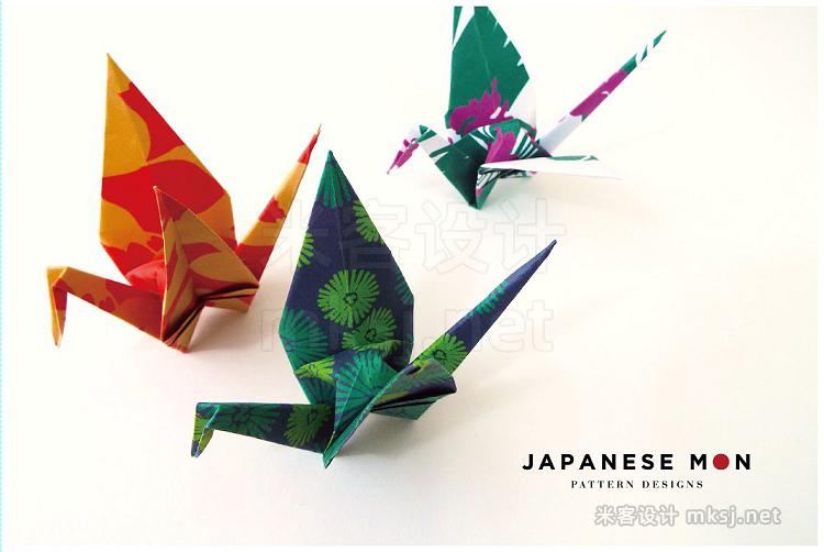 png素材 12 BEST JAPANESE PATTERNS BUNDLE