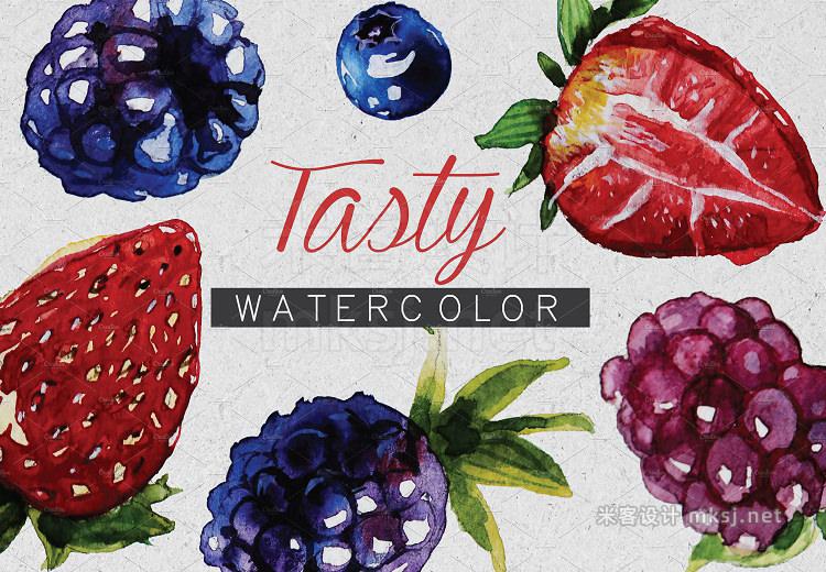 png素材 tasty watercolor set
