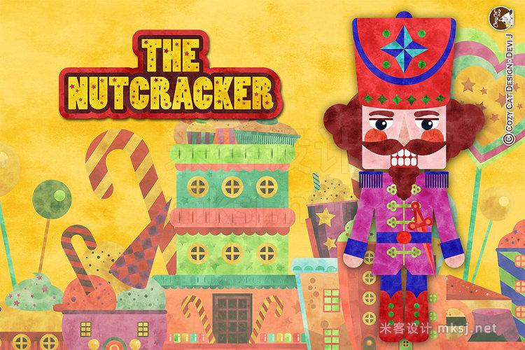 png素材 Digital Clipart Nutcracker (Tex)