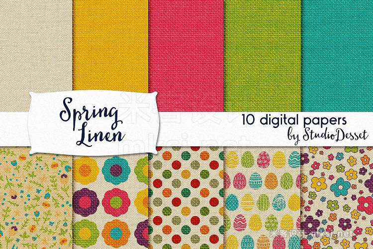 png素材 All in One - Spring Design Bundle