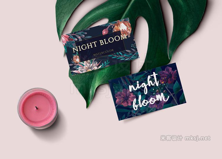 png素材 Night bloom