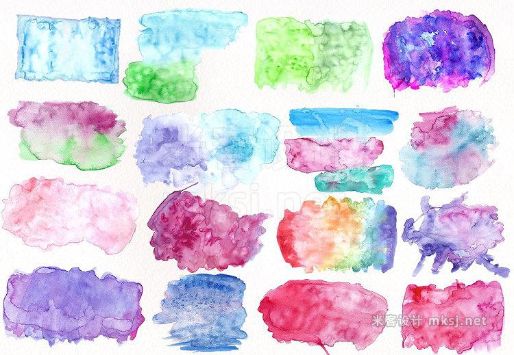png素材 Watercolor Textures - Vol III