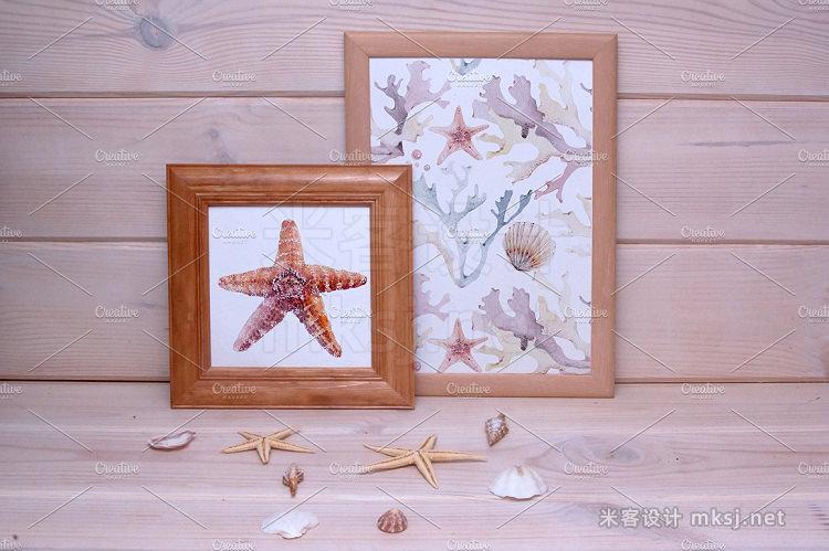 png素材 SUPER STARS watercolor set