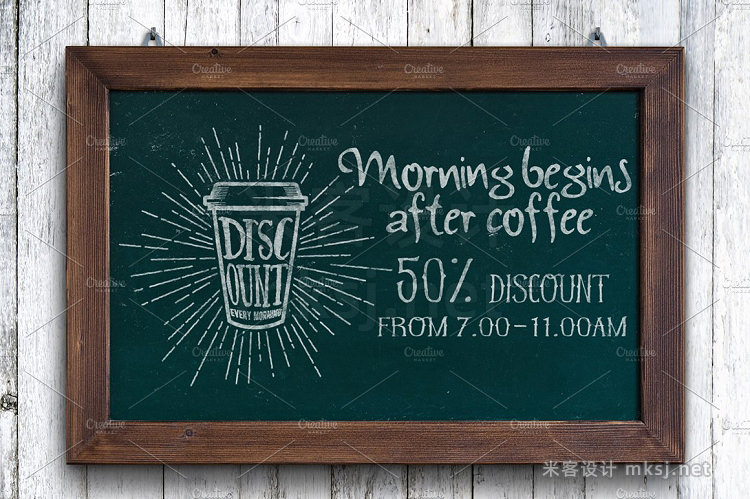 png素材 18 Coffee Quotes Lettering on cups