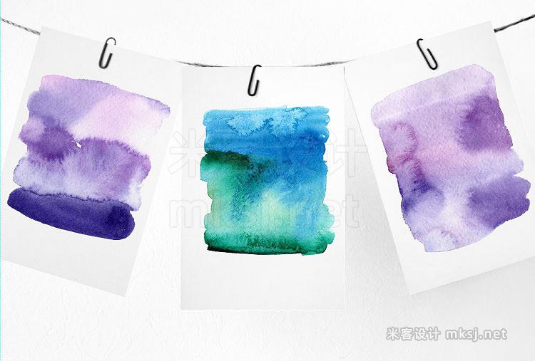png素材 Watercolor brushesdesign elements