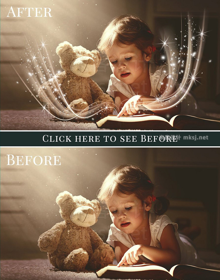 png素材 Magic Book photo overlays