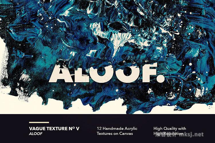 png素材 Vague I 12 Acrylics Textures