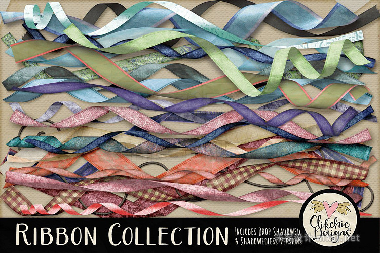 png素材 Curled Ribbon Collection