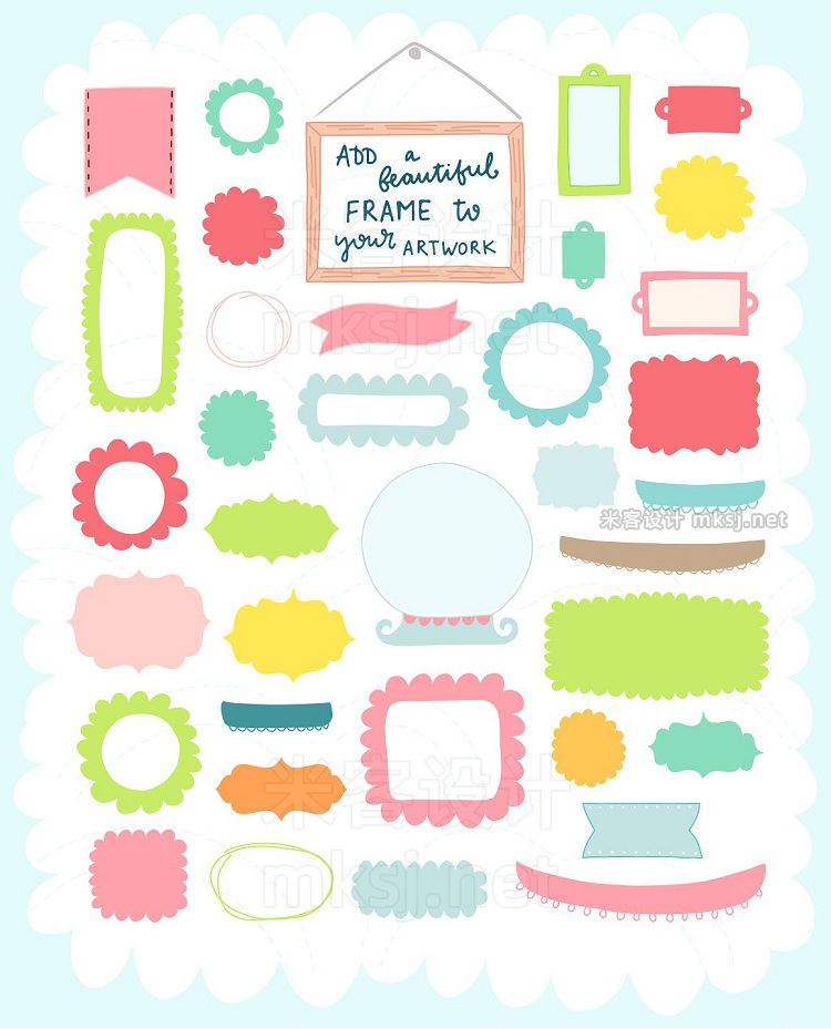 png素材 Spring is Here Graphics Patterns