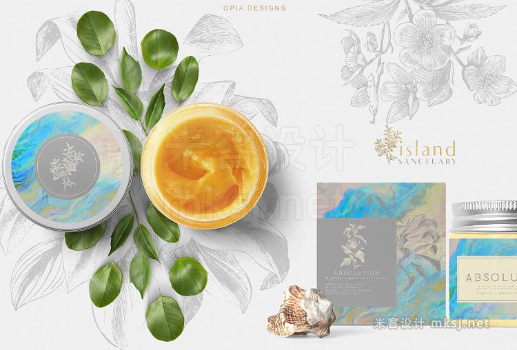 png素材 Magick Opals - graphic set