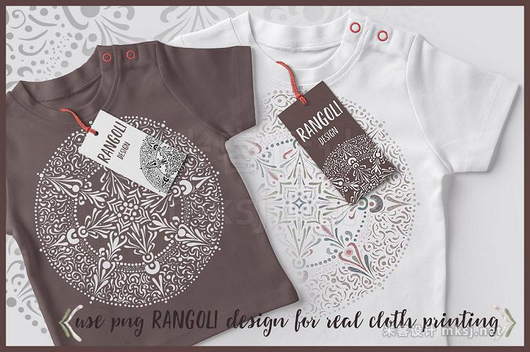 png素材 RANGOLI - MANDALA CLIP ART