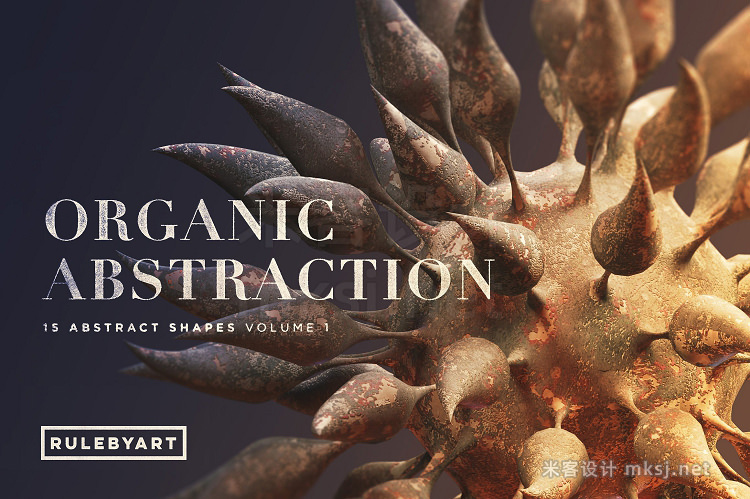 png素材 Organic Abstraction Vol1
