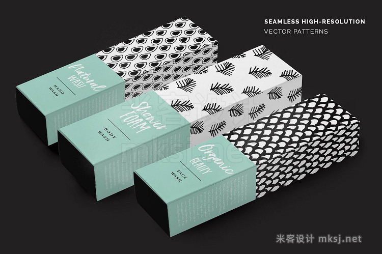 png素材 Abstract Seamless Patterns