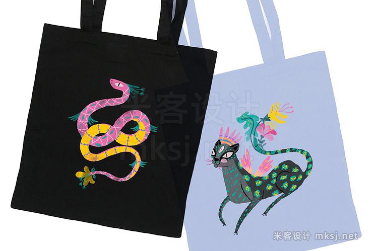 png素材 Jungle Spirit Clip Art Set