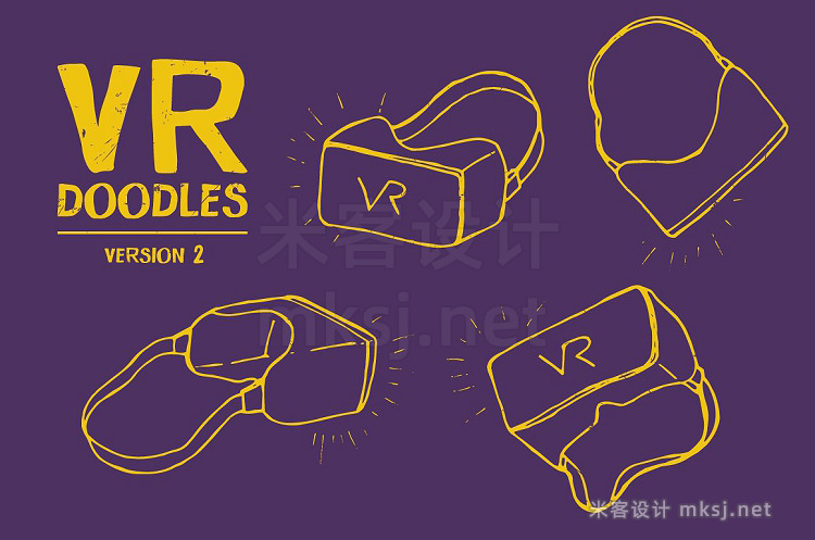 png素材 VR Goggle Glasses Vector