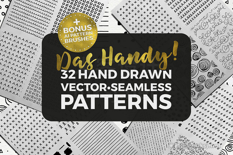 png素材 Das Handy Patterns Brushes