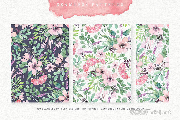 png素材 Spellbound Watercolour Design Kit