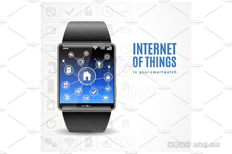 png素材 Smart Watch Set