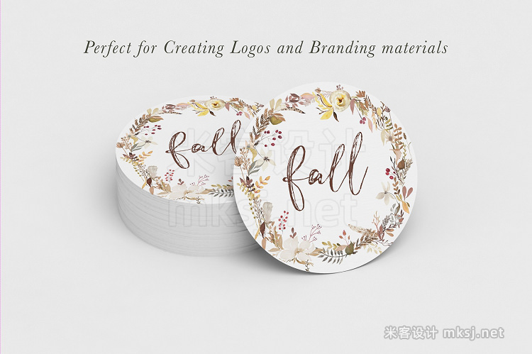 png素材 Fall for Autumn - Watercolor Clipart