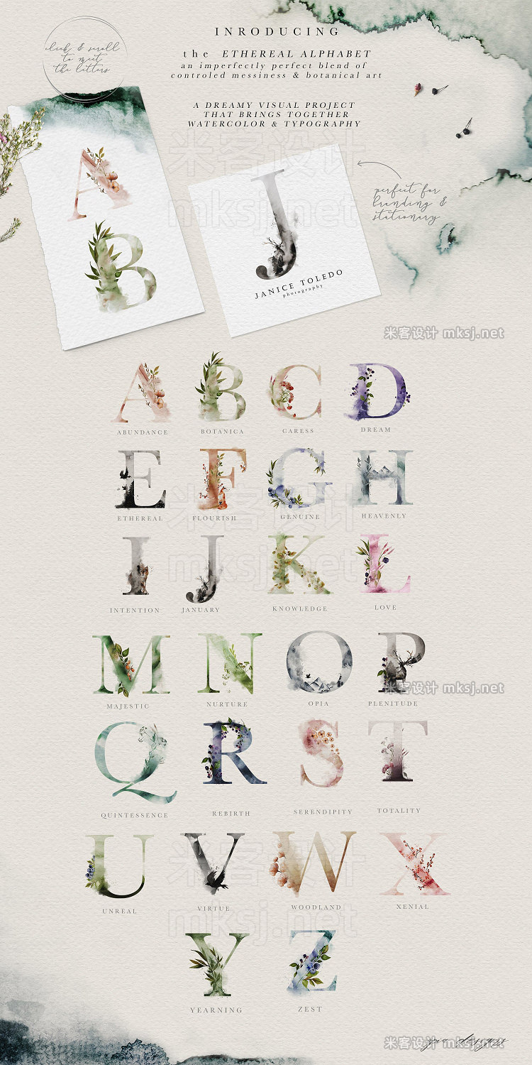 png素材 Ethereal Woodland - Graphic Set