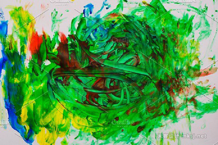 png素材 10 JPG Abstract oil painting
