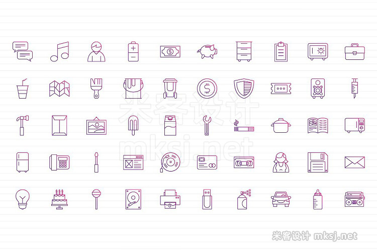 png素材 150 Icons Pack