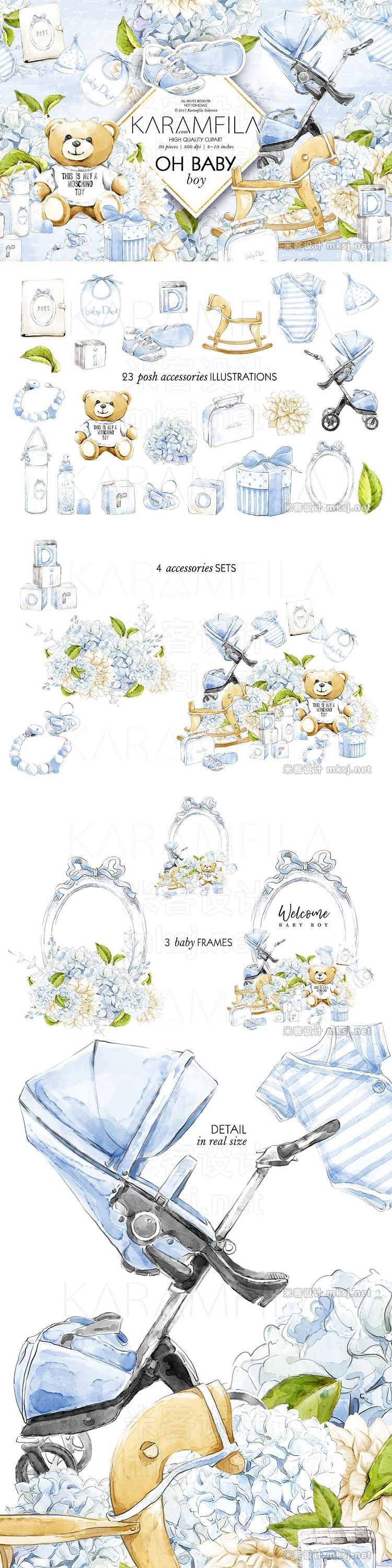 png素材 Baby Boy Clipart