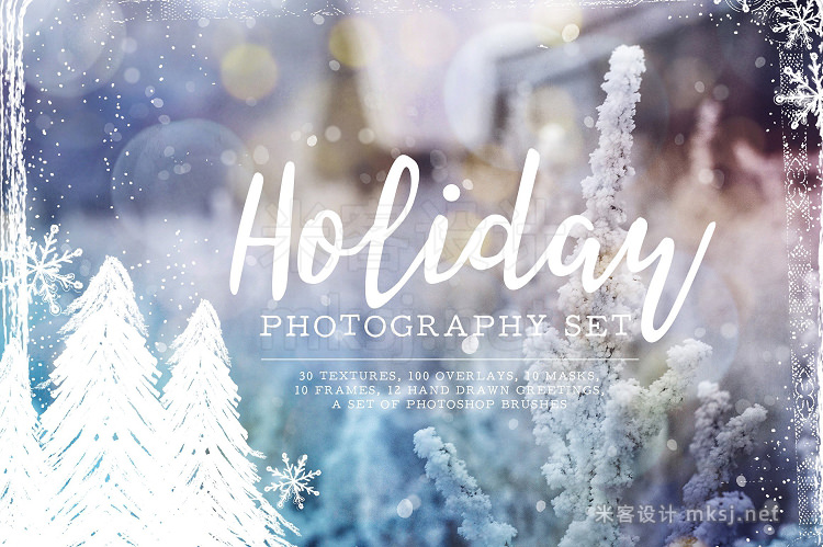 png素材 Holiday Photography Set