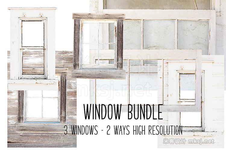 png素材 Barn Window bundle Farmhouse
