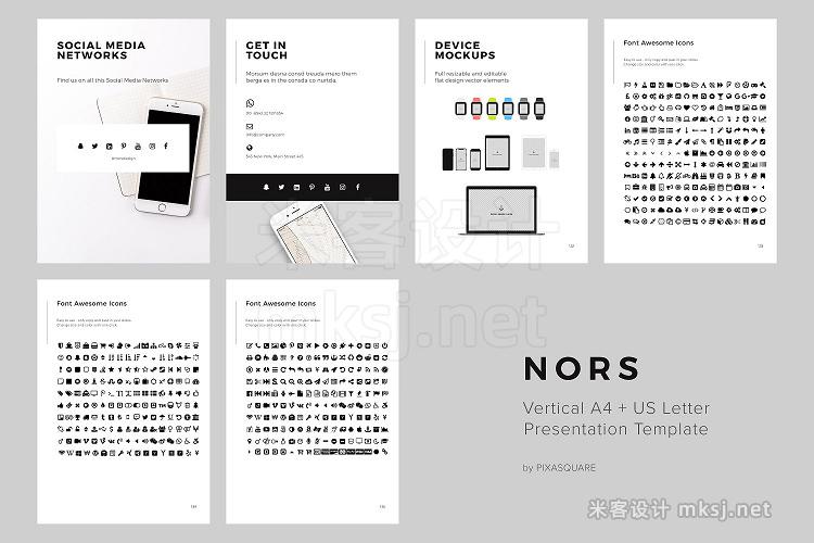 png素材 NORS Vertical Google Slide  GIFT