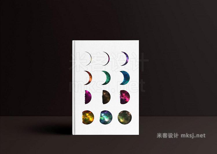 png素材 Galaxy Phases of the Moon  Bonus