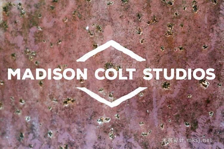 png素材 50 Rusty Metal Textures - Vol 1