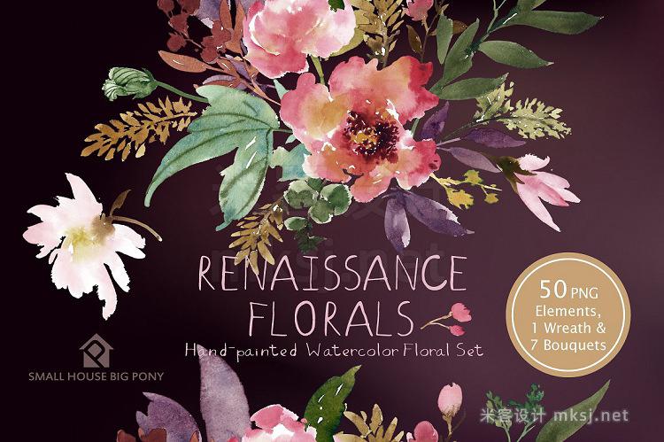png素材 Renaissance Florals