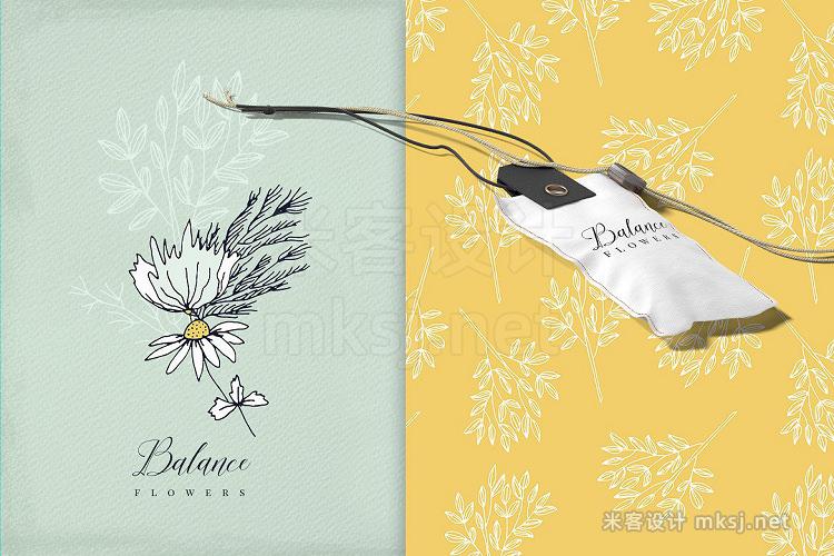 png素材 Balance Flowers