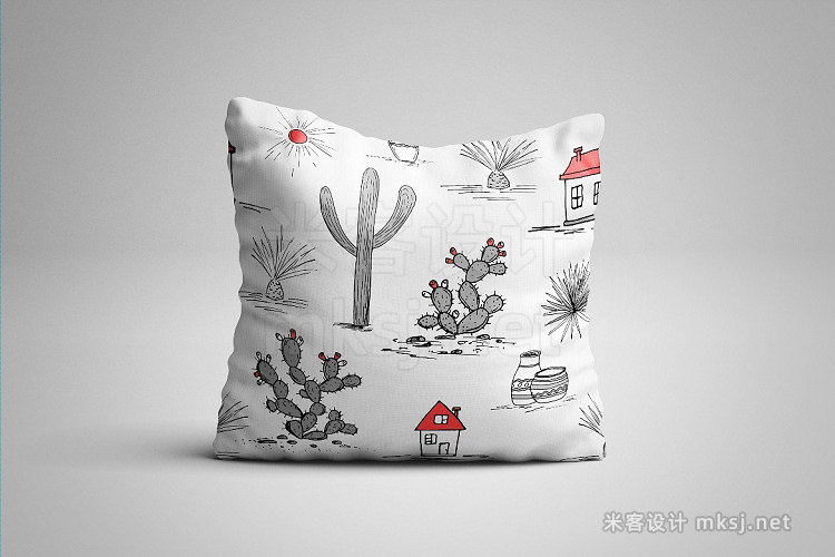 png素材 Wild Cacti Planet Vector collection