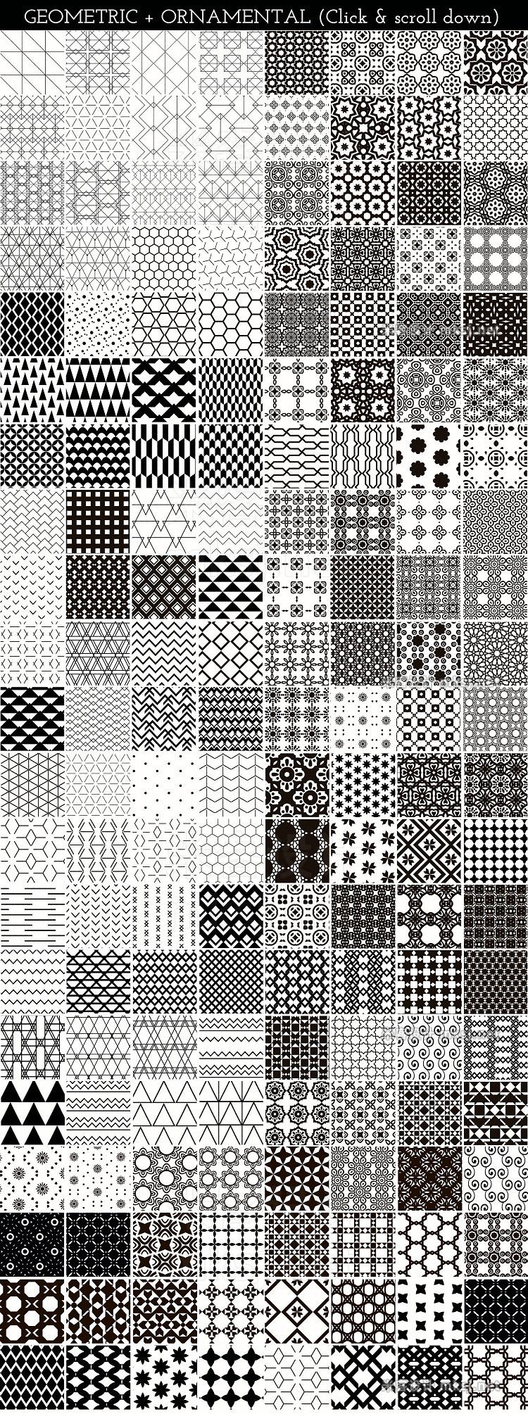 png素材 Pattern Paradise Bundle