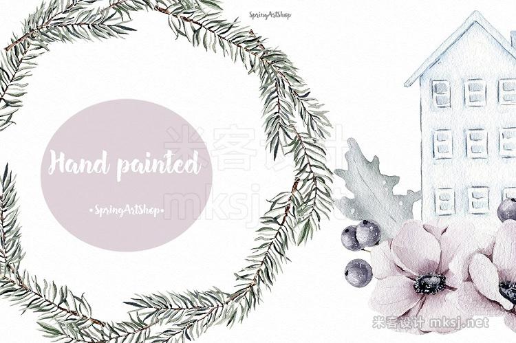 png素材 Scandinavian Christmas Clipart