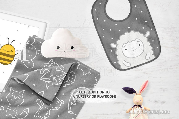 png素材 Cute baby animals clipart