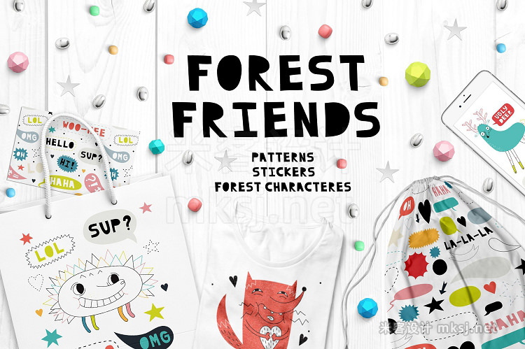 png素材 Forest friends Graphics