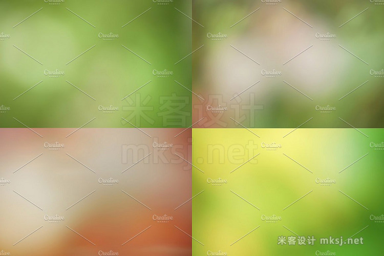 png素材 Blurred Backgrounds from Nature -50%