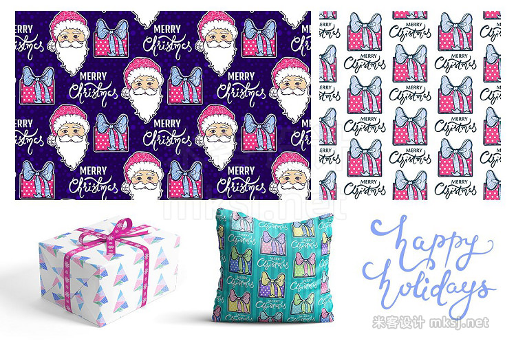png素材 Merry Christmas pack New Year 2018