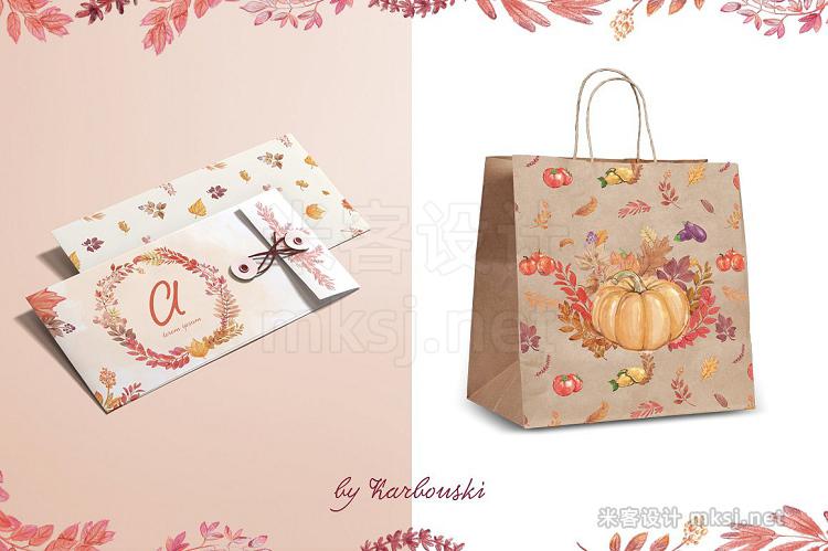 png素材 Autumn set