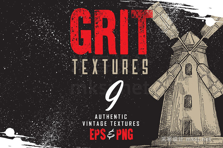 png素材 Authentic Grit Textures