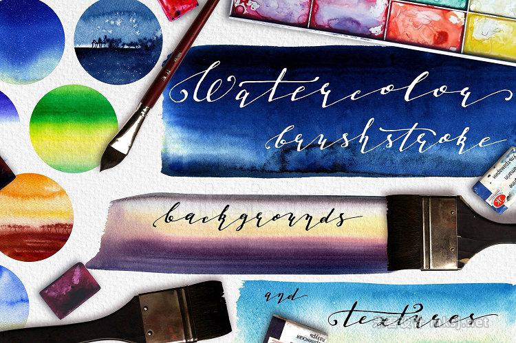 png素材 Watercolor Brushstrokes