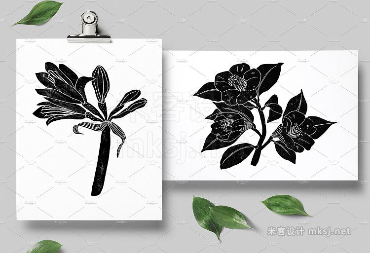 png素材 Vintage botanica