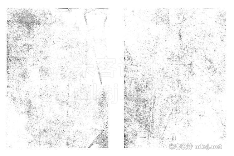 png素材 Subtle Grunge Textures Vol 1