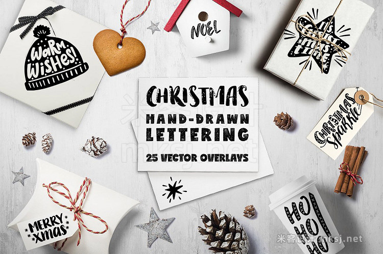 png素材 Christmas Overlays