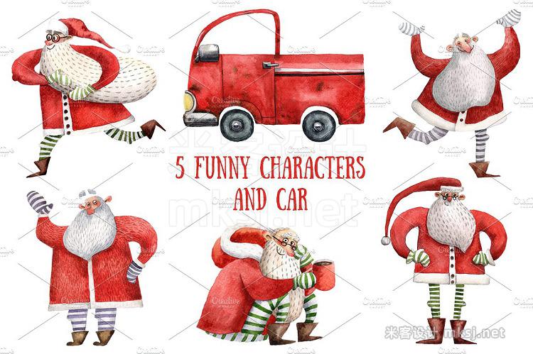 png素材 Happy Santa
